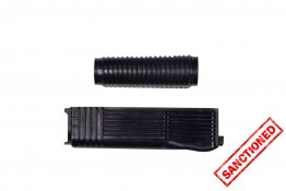 Black Polymer Handguard Set for Vepr 12 (Upper and Lower)