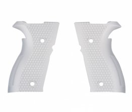 White Pistol Grip For Rex Alpha