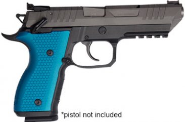Blue Pistol Grip For Rex Alpha