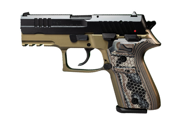 REX Zero 1 Compact FDE Dark Earth Grip