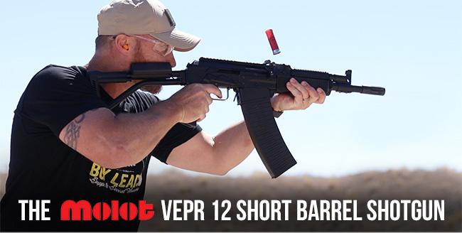 The MOLOT Vepr Short-Barrel Shotgun