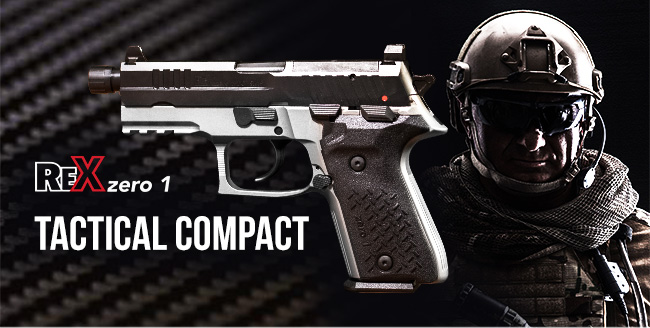 REX Zero 1 Tactical Compact, Now Available!