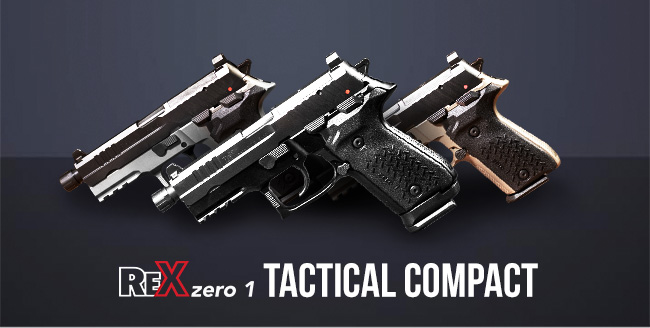 Tactical Compact – Available in Black, FDE, and Grey