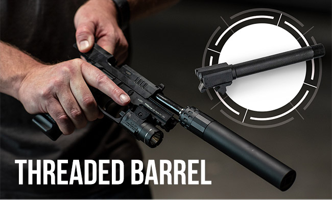 Get Tactical: Threaded Barrel for your REX Zero 1 Standard!