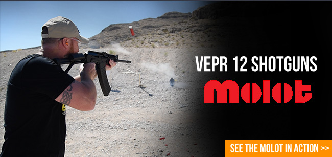 Vepr 12 Shotguns – Get 'em before they're gone!