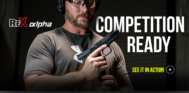 REX Alpha – Competition Ready Pistol