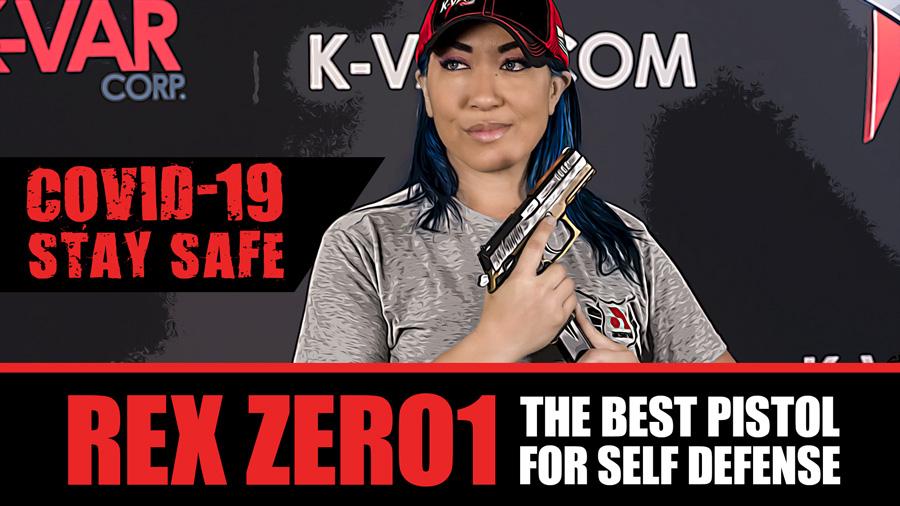 REX ZERO 1S – COVID-19 – Best Pistol for Self Defense